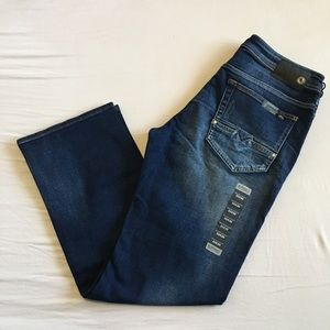 Buffalo David Bitton Relaxed Straight Stretch Jean